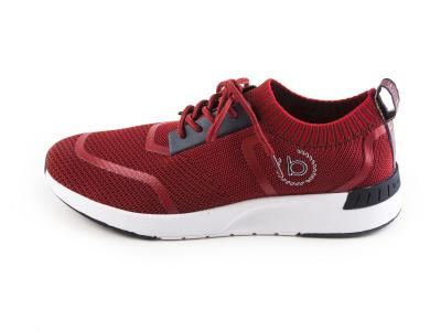 653576f2752 Pánská obuv BUGATTI Pánské textilní nazouvací tenisky 341-30561-6900    červená