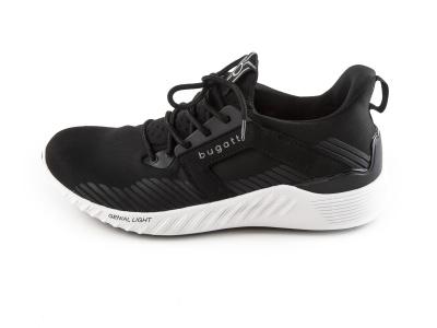 36c8f868d7f Pánská obuv BUGATTI Pánské odlehčené softshellové tenisky 342-39461-6900    černá