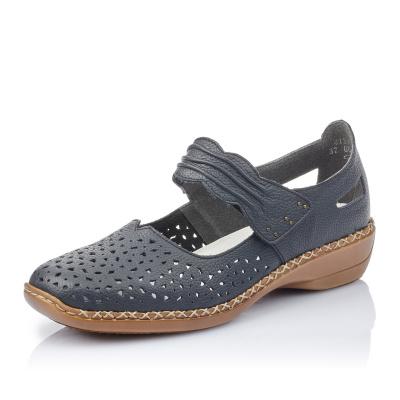 Dámská obuv RIEKER 41399-14 BLAU F S 9 dbaf7edb1f