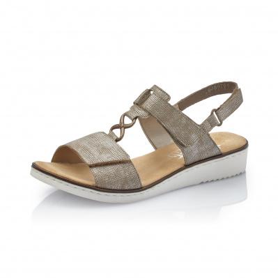 8a0404d3b2e Dámská obuv RIEKER 63687-64 BEIGE F S 9