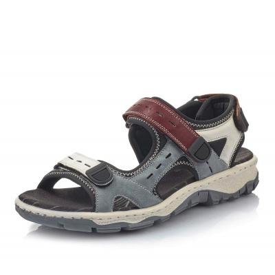 Dámská obuv RIEKER 68872-13 BLAU KOMBI F S 9 3e79a4e074