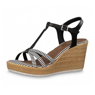 Dámská bota TAMARIS 1-1-28380-22 BLACK WHITE 005 5d32fee4018