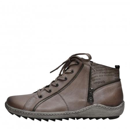 detail Dámská obuv RIEKER - REMONTE R1472 42 GRAU KOMBI H W 8 5de217ed297