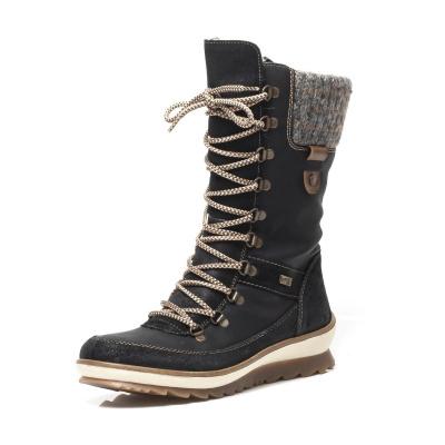 aed46acef5b Dámská obuv RIEKER R4371 02 SCHWARZ KOMBI H W 8