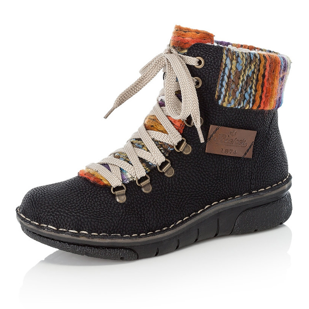 dfd4551741899 Dámská obuv RIEKER 73343/00 SCHWARZ KOMBI H/W 8 | W&R obuv