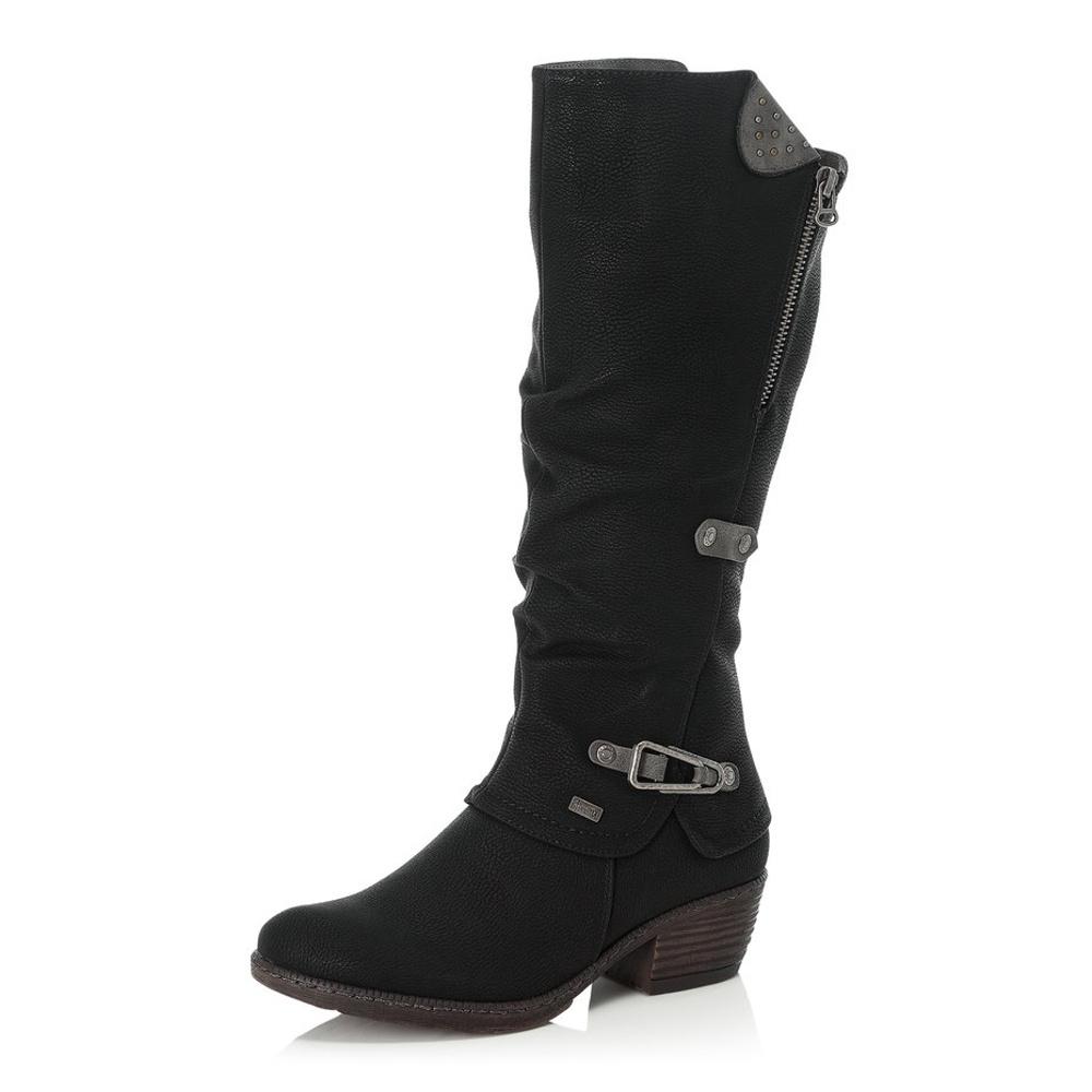 Dámská obuv RIEKER 93752 00 SCHWARZ H W 8  41528547fa5