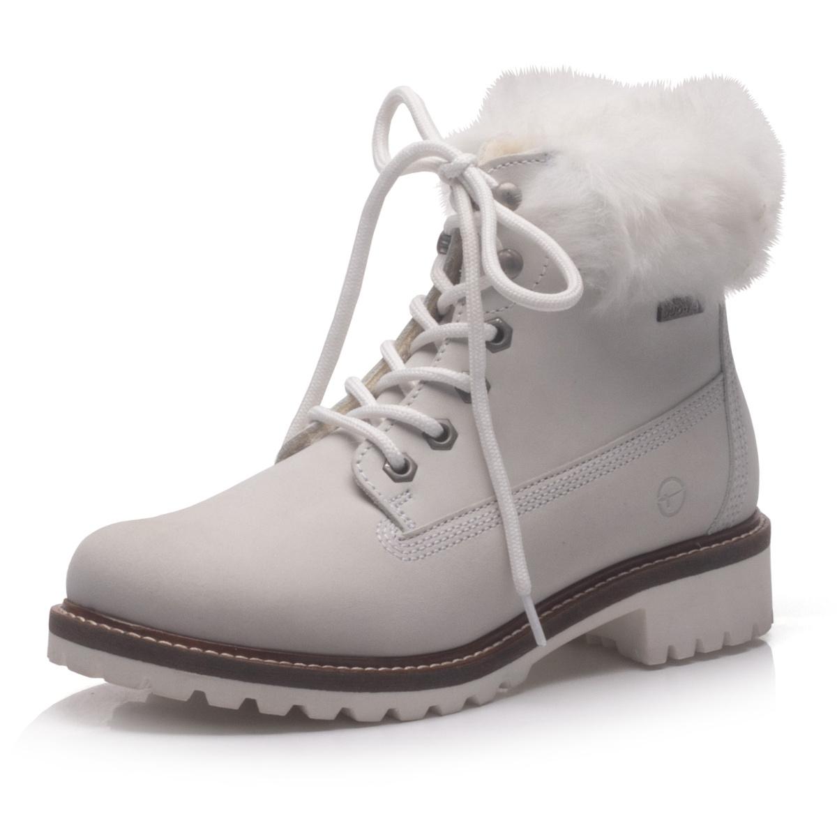 47d86b1608 detail Dámská obuv TAMARIS 1-1-26294-21 WHITE FUR 130